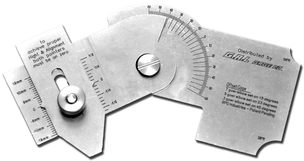 Pit Gauge Stainless Steel GAL-5g Inch Measurement Scale G.A.L Gauge Co